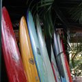 Surf shop on the North Shore