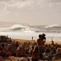 The Pipeline surfing contest
