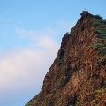 Stunning mountain behind Makaha