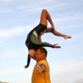 Reverse One Arm Back by Aimee and Christian