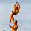Contorsion lift - Fred and Lily