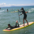 Tandem Surfing - Stand Up Paddle session