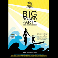 Poster BIG BOARD PARTY