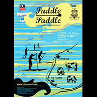 Poster PADDLE PADDLE